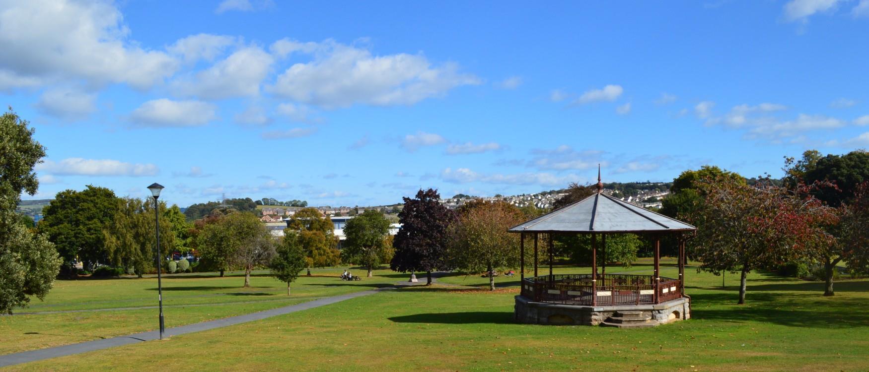 Courtenay Park, Newton Abbot