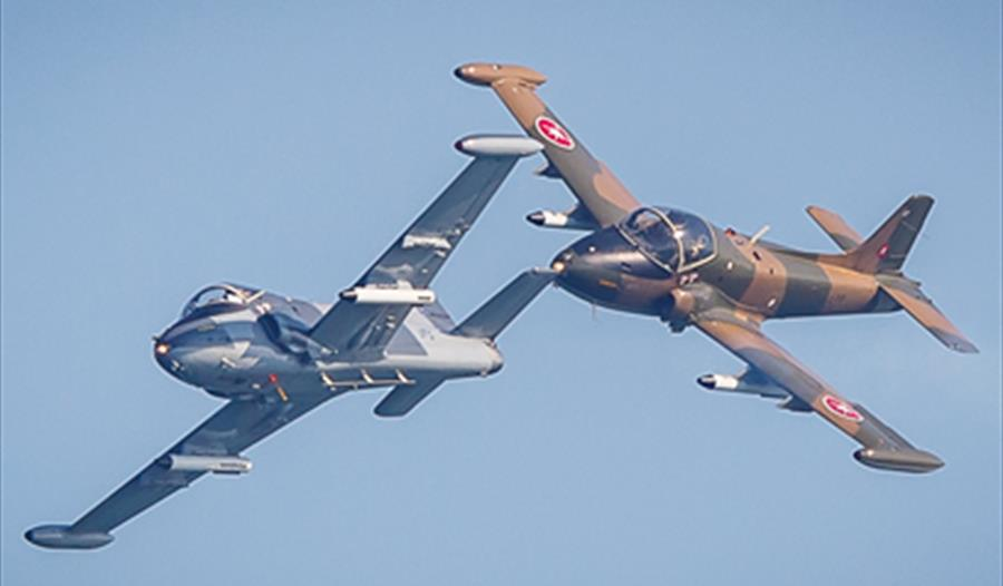 BAC Strikemaster Pair aerobatic jet team