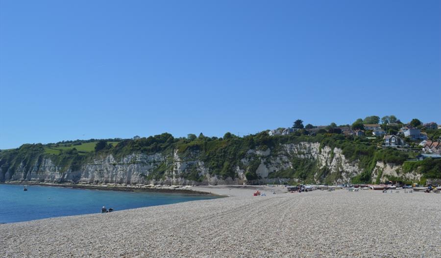 Beer Beach with clear sky