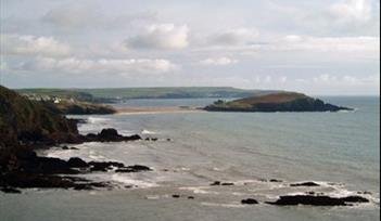 Burgh Island from Toby's point. Photographer S Curtis