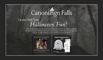 Halloween Fun at  Canonteign Falls