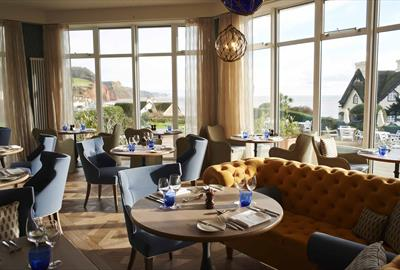 Upper Deck Restaurant at Sidmouth Harbour Hotel