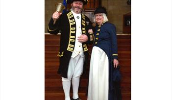 Dartmouth Award winning Town Crier and Historical Town Guide