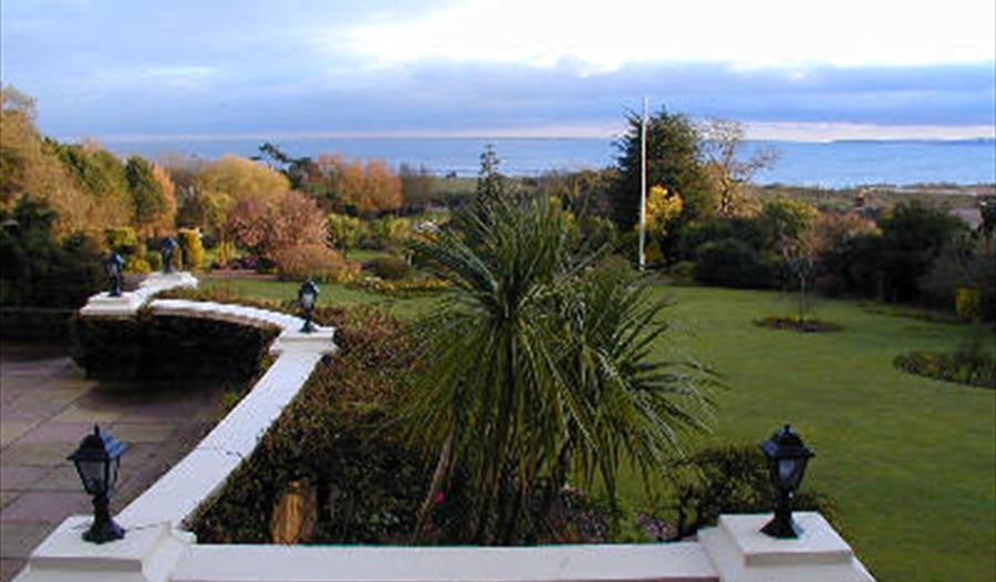 Beautiful hotel, stunning gardens and views.