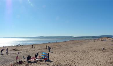 Exmouth sandy beach