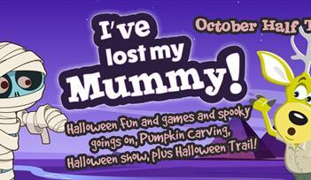 Halloween half term: I've lost my Mummy!
