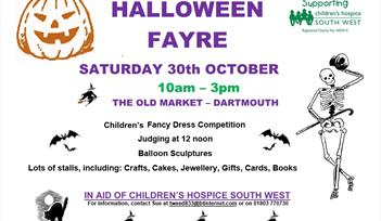 Halloween Fair in aid of CHSW