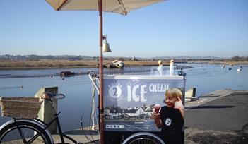 Ice cream in Topsham