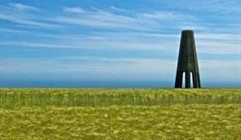 Dartmouth Marker from footpath near Coleton Fishacre. Photographer Paul Roberts, Devon.