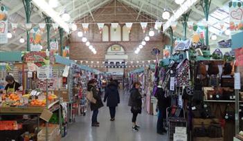 Newton Abbot inside market
