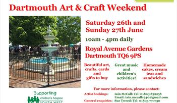 Dartmouth Art & Craft Weekend