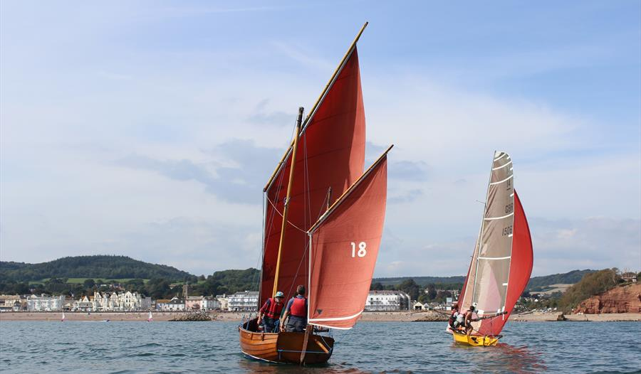 Beer Luggers and Sailing races at Sidmouth Regatta