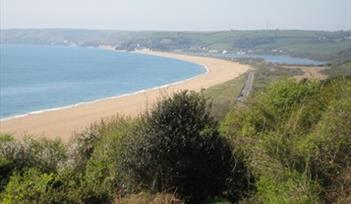 Near Strete looking at Slapton Sands. Photographer Ray & Dot Culmer, Bournemouth