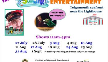 Summer Entertainment in Teignmouth
