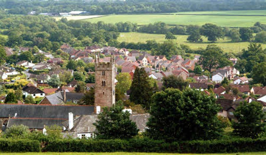 Bovey Tracey town