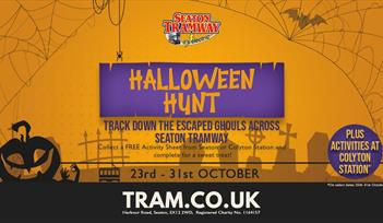 Halloween Hunt at Seaton Tramway