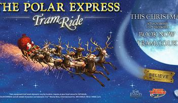 The Polar Express Seaton Tram Ride