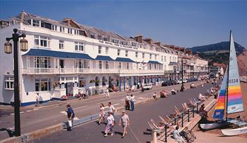 Royal York and Faulkner Hotel, Sidmouth