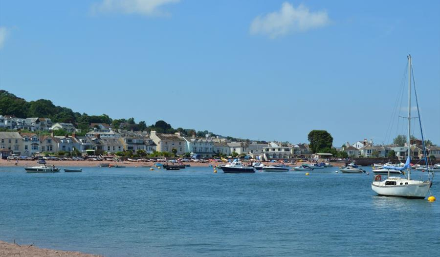 View of Shaldon from Teignmouth River Beach
