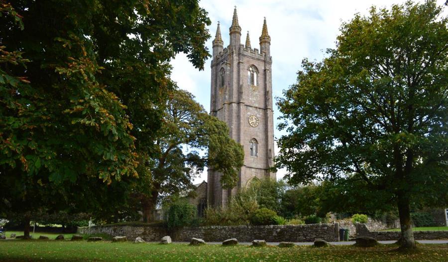 Widecombe in the Moor Church, Dartmoor
