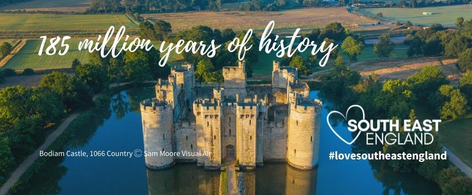 Discover South East England's 185 million years of history from its UNESCO World Heritage Sites to its array of Cathedrals, castles, churches, manor houses and palaces.
