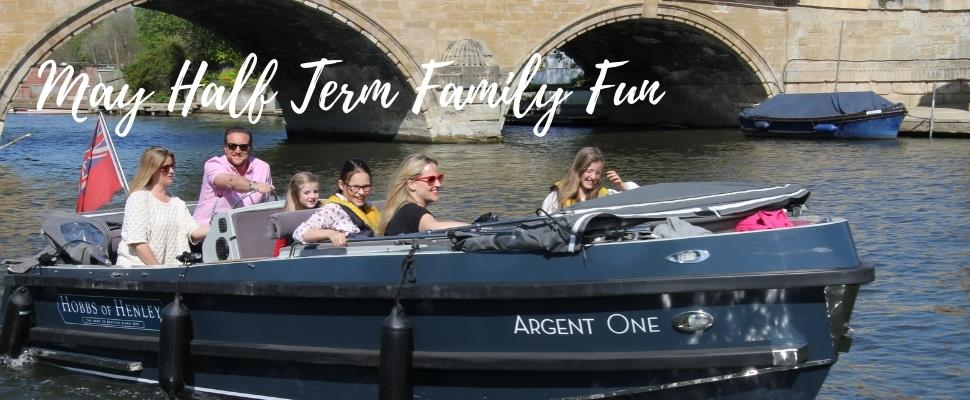 Private Boat Hire for family and friends to enjoy time on the river in Henley on Thames