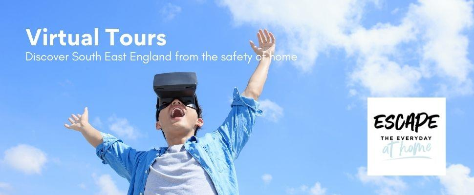 Discover the host of virtual tours, webcams and videos showcasing the beautiful South East England