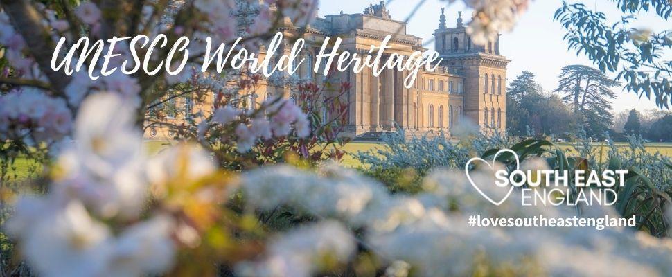 UNESCO World Heritage Site of Blenheim Palace, Oxfordshire