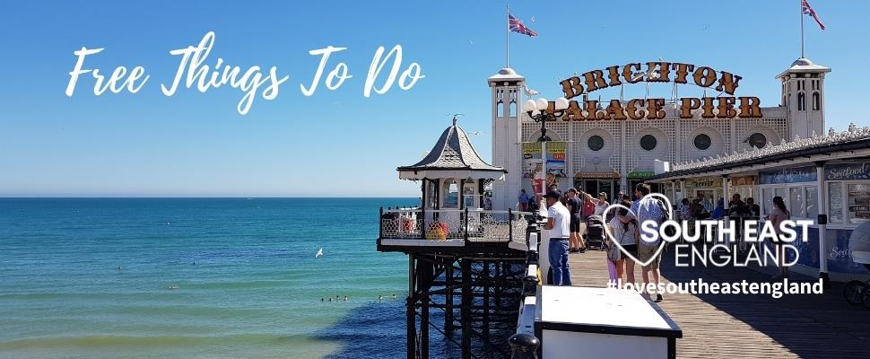 Brighton has a host of free things to do including the famous Brighton Palace Pier and Brighton Beach.