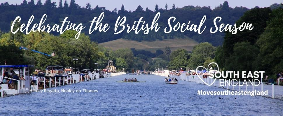 Celebrate the British Social Season with a whole host of events and activities across the South East