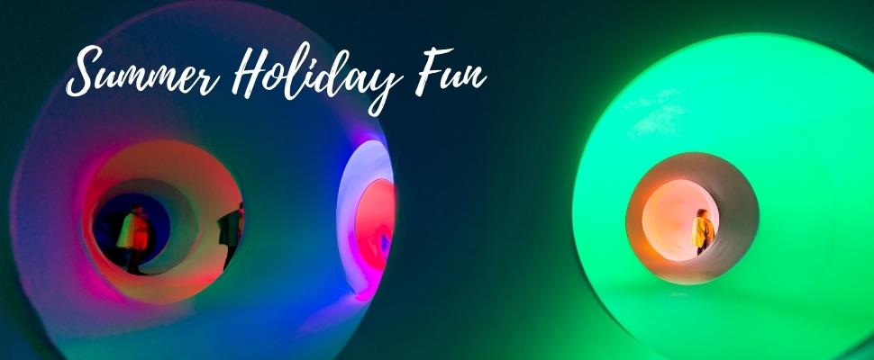 Experience Colourscape at Waddesdon Manor in Aylesbury, Buckinghamshire
