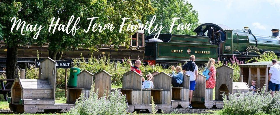 All the vintage fun of steam at Didcot Railway Museum, South Oxfordshire, this May Half Term