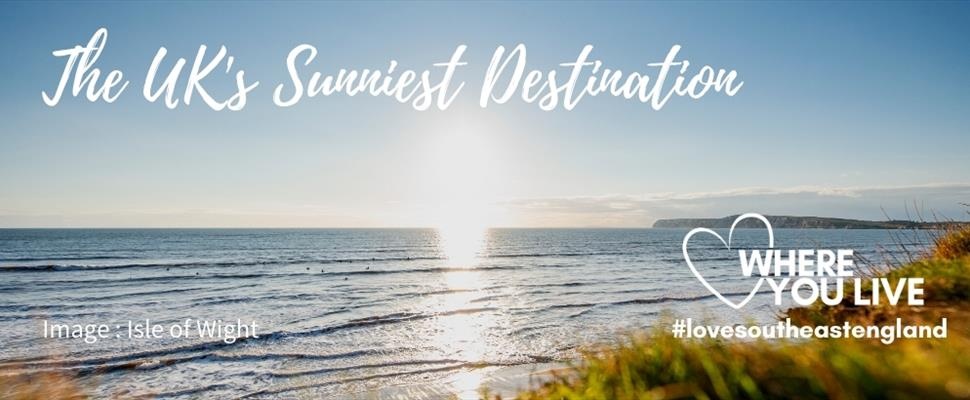 Discover South East England with over 1900 hours of sunshine a year and the sunniest welcome from our businesses, its the sunniest destination in the UK