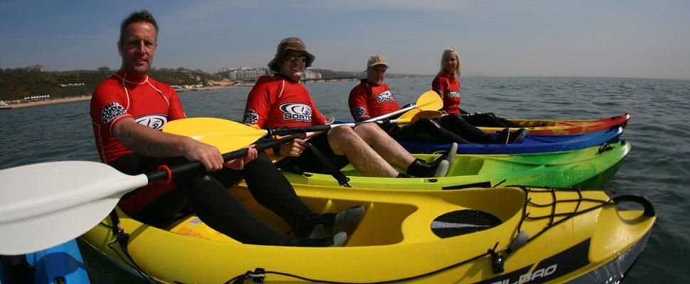 Kayaking in Bournemouth