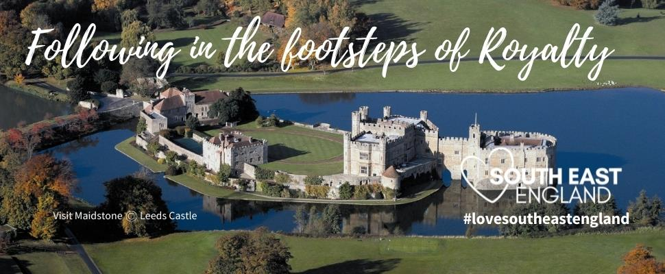 Follow in the footsteps of Royalty across South East England, including the stunning Leeds Castle, Visit Maidstone