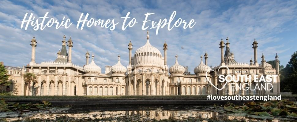 The spectacular seaside palace of the Prince Regent (George IV), located in the heart of Brighton, East Sussex