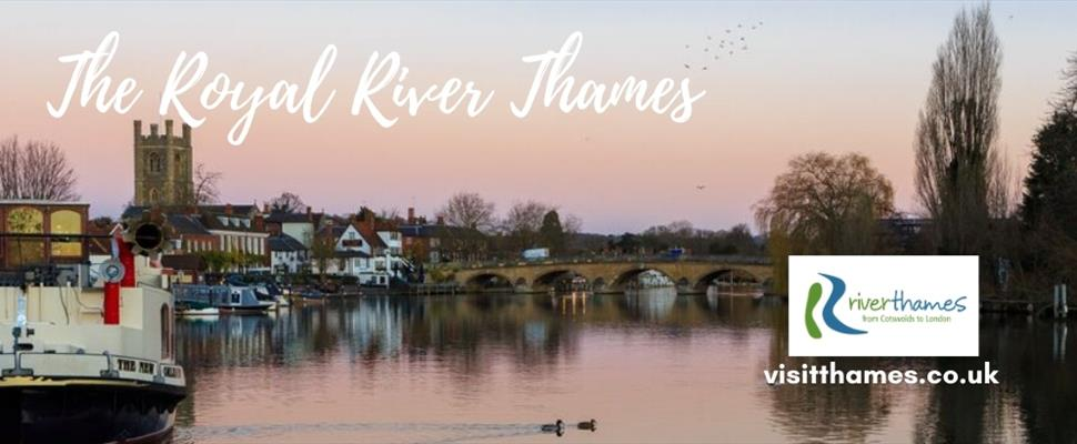 Love Where You Live - South East England which includes a large stretch of the River Thames which passes through from London to the Cotswold's.