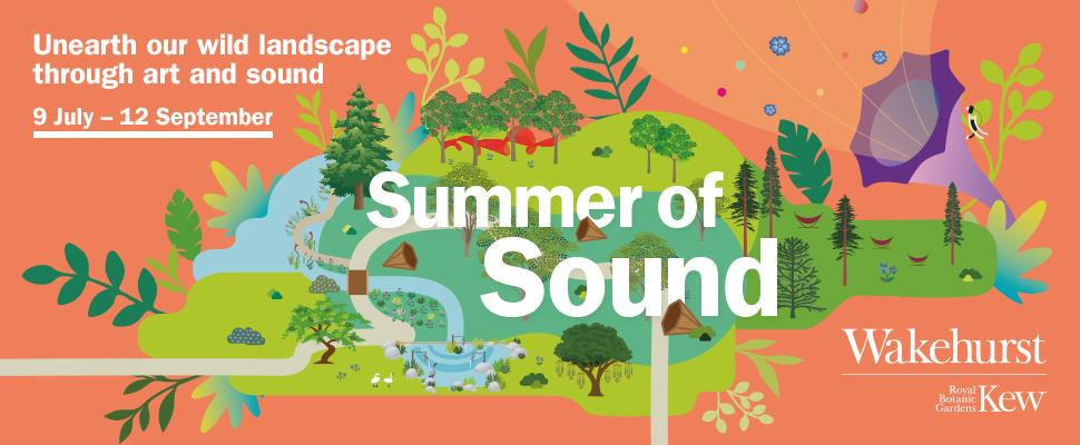 Summer of Sound at Wakehurst, West Sussex