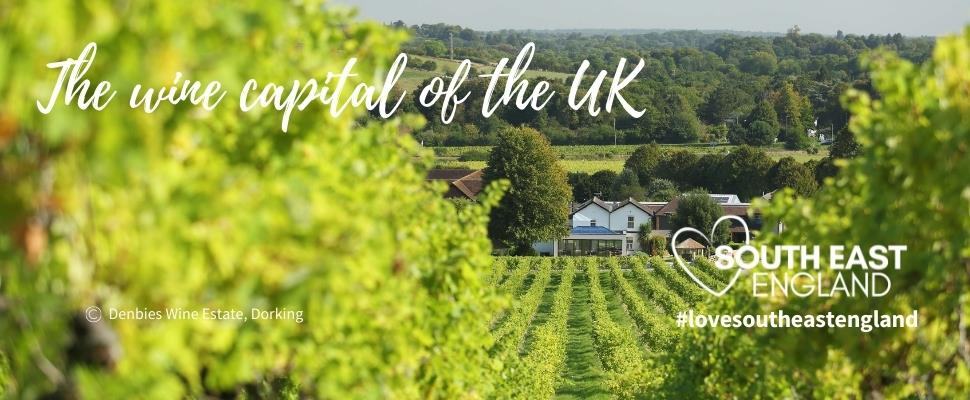 Discover the Wine Capital of the UK, South East England with over 140 vineyards to explore