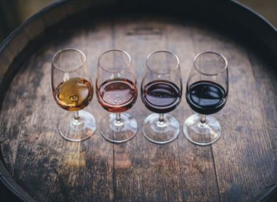 English Wine and Food Festival at Brightwell Vineyard