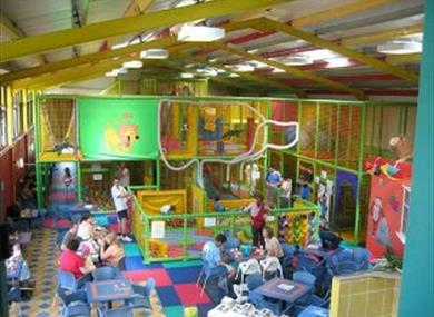 Monkey-Mates soft play area