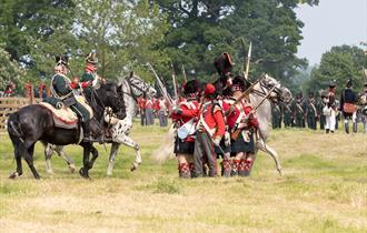 Let Battle Commence Napoleonic Weekend at Hole Park