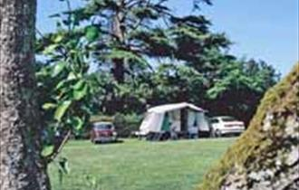 Camping & Caravanning Club Site, Slindon, Arundel in Sussex by the Sea.