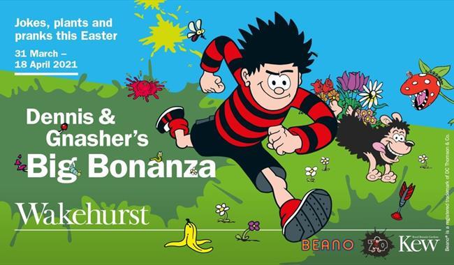 Dennis & Gnasher's Big Bonanza at Wakehurst