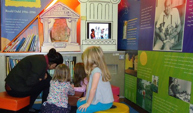 Buckinghamshire County Museum & Roald Dahl Childrens Gallery
