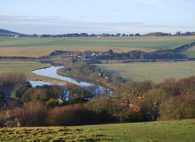 Descent to the Cuckmere valley
