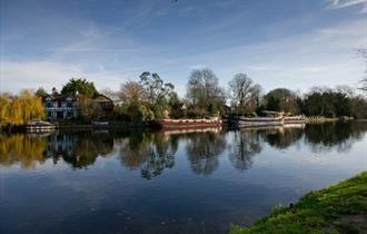 The River Thames at Old Windsor
