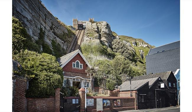Cliff Railways - East Hill