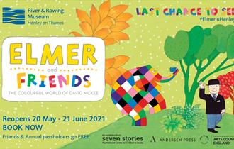 Elmer and Friends: The Colourful World of David McKee at the River & Rowing Museum