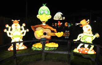 Illuminated Evenings at Fairytale Farm 2021